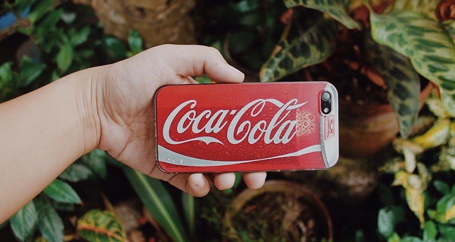 Hashtagging it with Coca-Cola
