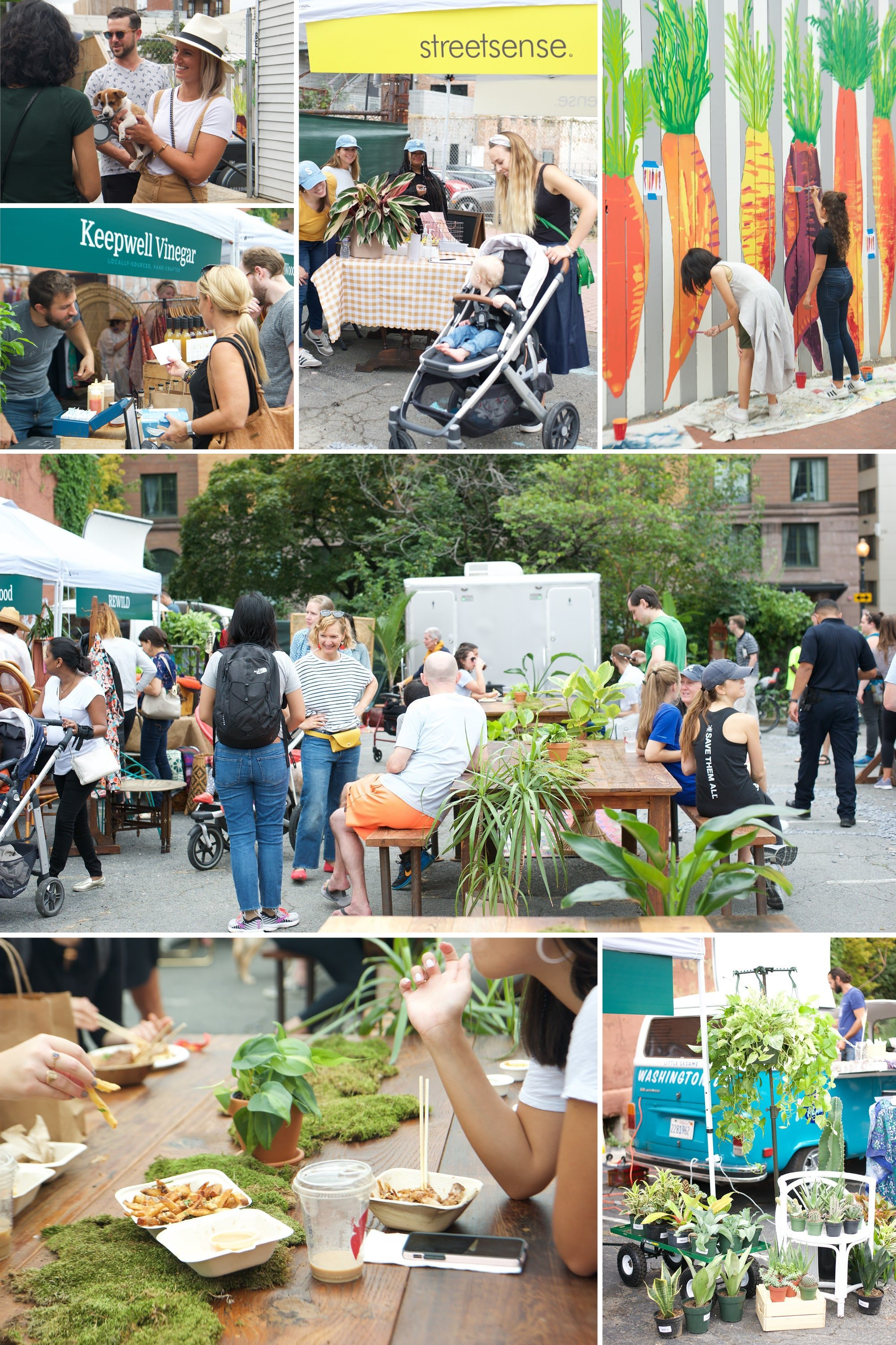 Collection of photos from Streetmartket in Blagden Alley by Streetsense