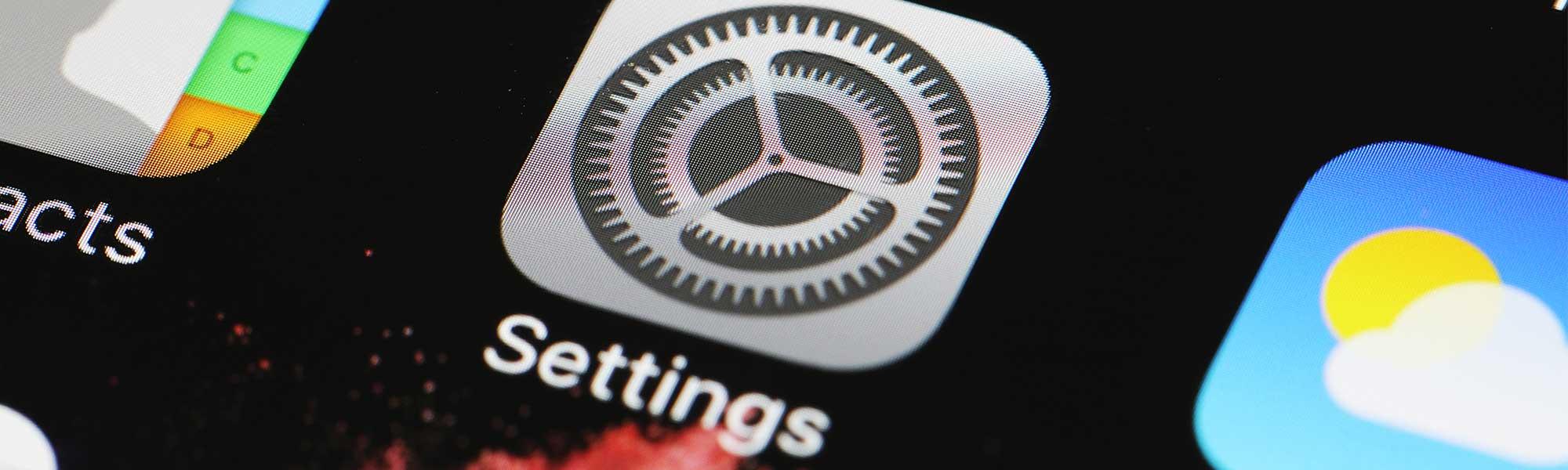 ios settings app logo