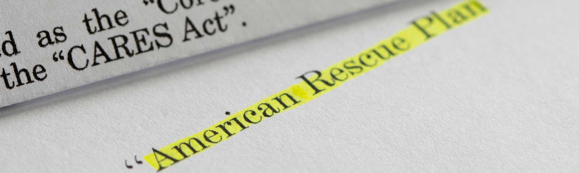 How Can the American Rescue Plan Act Support Economic Recovery in Your Community?